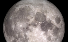 Full Cold Moon For Christmas