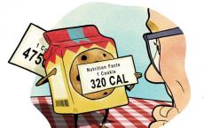 Food warnings can backfire among dieters