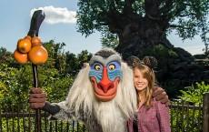 Conservationist Bindi Irwin visits Disney's Animal Kingdom