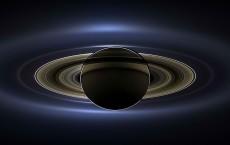 Cassini Spacecraft Sends Picture Of Backlit Saturn