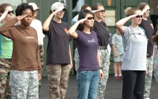 Trooper's spouses earn their spurs