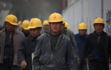 Group of Chinese Wearing Yellow Safety Helmet during Daytime