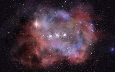 Artist's Impression of the Distant Galaxy MACS0416_Y1 (IMAGE)