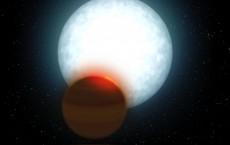 Ultra hot Jupiter -- Artist's Impression (IMAGE)