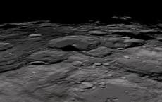 Lunar South Pole (IMAGE)